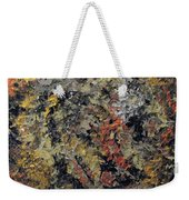 Metallic Abstraction Weekender Tote Bag
