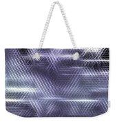 Metallic Cross Pattern  Weekender Tote Bag