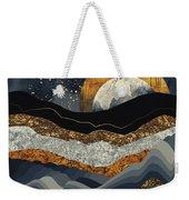 Metallic Mountains Weekender Tote Bag