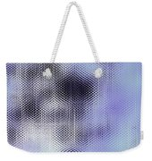Metallic Weaving Pattern Weekender Tote Bag