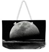 Meteor Crater Moon Weekender Tote Bag