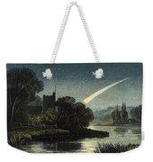 Meteor In Night Sky, 1868 Weekender Tote Bag