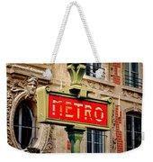 Metro Weekender Tote Bag