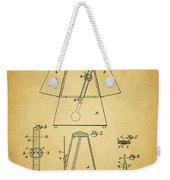 Metronome Patent Weekender Tote Bag