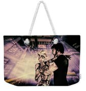 Metropolis Revisited  Weekender Tote Bag by Bob Orsillo