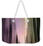 Metropolis Sunset Weekender Tote Bag