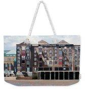 Metropolitan Wharf Weekender Tote Bag