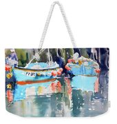 Mevagissey Harbour Weekender Tote Bag