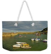 Mevagissey Outer Harbour Weekender Tote Bag