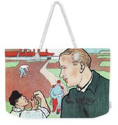 Mevisto In The Country French Theatre Ad Weekender Tote Bag