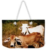 Mexican Cattle Weekender Tote Bag