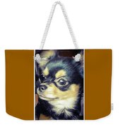 Mexican Chihuahua Puppy Weekender Tote Bag