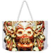 Mexican Day Of The Dead Mask Weekender Tote Bag