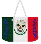 Mexican Flag Of The Dead Weekender Tote Bag