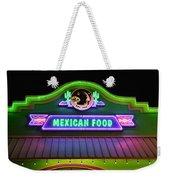 Mexican Food Weekender Tote Bag