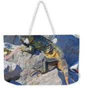 Mexican Iguana Weekender Tote Bag