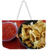 Mexican Inn Chips And Salsa Weekender Tote Bag