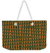 Mexican Poppy Field Abstract Weekender Tote Bag
