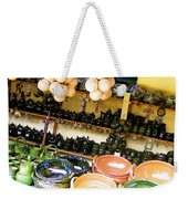 Mexican Pottery Weekender Tote Bag