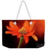 Mexican Sunflower Weekender Tote Bag