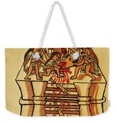 Mexico: Aztec Sacrifice Weekender Tote Bag