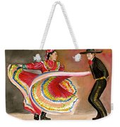 Mexico City Ballet Folklorico Weekender Tote Bag
