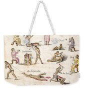 Mexico: Indian Punishments Weekender Tote Bag