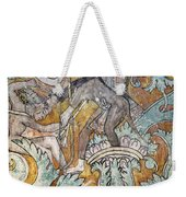 Mexico: Ixmiquilpan Fresco Weekender Tote Bag