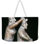 Mexico: Totonac Figures Weekender Tote Bag