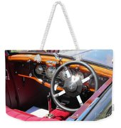 Mg Dashboard Weekender Tote Bag