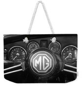 Mg Midget Dashboard Weekender Tote Bag