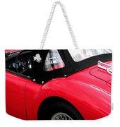 M G  Red Weekender Tote Bag