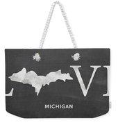 Mi Love Weekender Tote Bag