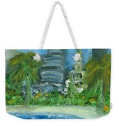Mi Miami Weekender Tote Bag by Jorge Delara