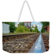 Mi New Haven Rail Road Reflections Weekender Tote Bag