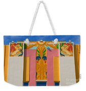 Miami Beach Art Deco Weekender Tote Bag