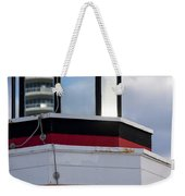 Miami Beach Life Guard House Sunrise Lighthouse Weekender Tote Bag