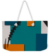 Miami Dolphins Football Art Weekender Tote Bag