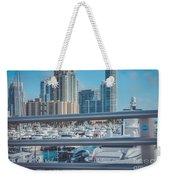 Miami Marina Weekender Tote Bag