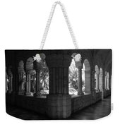 Miami Monastery In Black And White Weekender Tote Bag