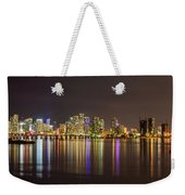 Miami Nights Weekender Tote Bag