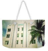 Miami South Beach Ocean Drive 3 Weekender Tote Bag