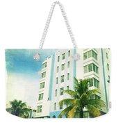Miami South Beach Ocean Drive 4 Weekender Tote Bag