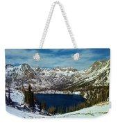 Mica Lake Weekender Tote Bag