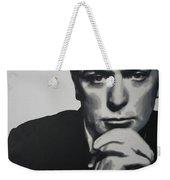 Michael Caine 2013 Weekender Tote Bag by Luis Ludzska