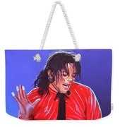 Michael Jackson 2 Weekender Tote Bag by Paul Meijering