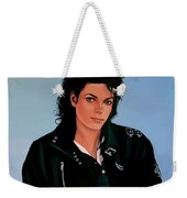 Michael Jackson Bad Weekender Tote Bag