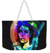 Michael Jackson Weekender Tote Bag by Mo T