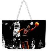 Michael Jordan Left Hand Weekender Tote Bag