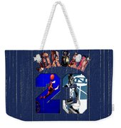 Michael Jordan Wood Art 2c Weekender Tote Bag